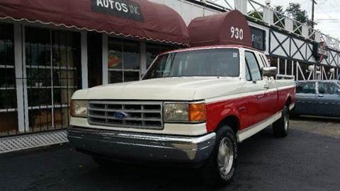 1991 Ford F-150 for sale at Autos Inc in Topeka KS