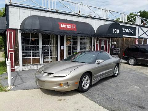 2002 Pontiac Firebird for sale at Autos Inc in Topeka KS