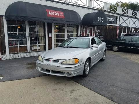 2002 Pontiac Grand Am for sale at Autos Inc in Topeka KS