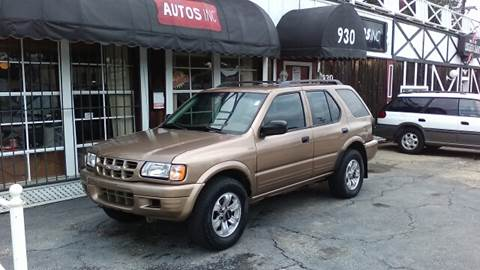2000 Isuzu Rodeo for sale at Autos Inc in Topeka KS