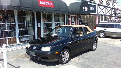 2001 Volkswagen Cabrio for sale at Autos Inc in Topeka KS