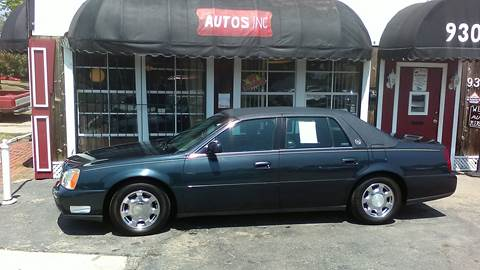 2000 Cadillac DeVille for sale at Autos Inc in Topeka KS