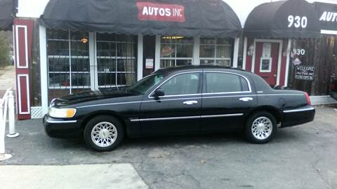 1998 Lincoln Town Car For Sale In Kansas Carsforsale Com
