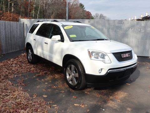 2012 GMC Acadia for sale in Stoughton, MA