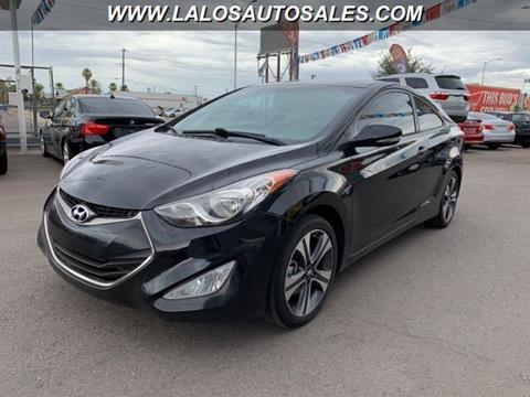 2013 Hyundai Elantra Coupe for sale in Phoenix, AZ