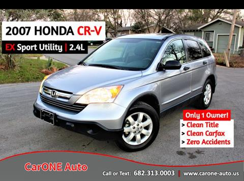 2007 Honda CR-V for sale in Arlington, TX