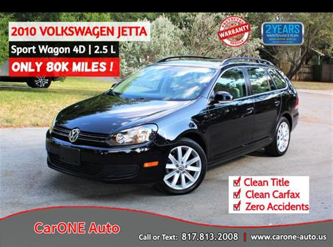 2010 Volkswagen Jetta for sale in Arlington, TX