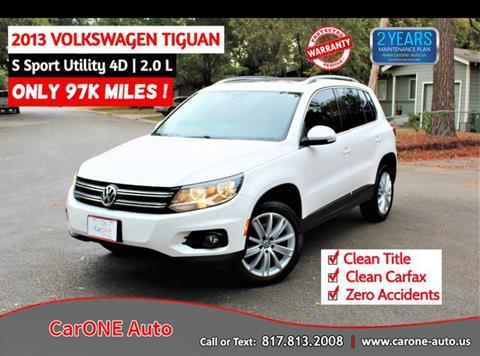 2013 Volkswagen Tiguan for sale in Arlington, TX