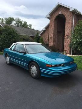 1992 Oldsmobile Cutlass Supreme for sale in Carlisle, PA