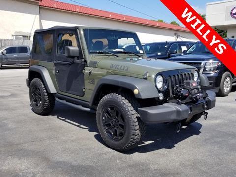 2015 Jeep Wrangler for sale in Fort Walton Beach, FL