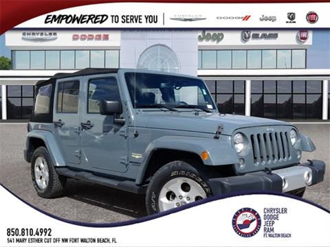 2014 Jeep Wrangler Unlimited for sale in Fort Walton Beach, FL