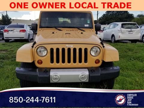 2013 Jeep Wrangler Unlimited for sale in Fort Walton Beach, FL