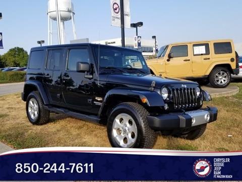 2015 Jeep Wrangler Unlimited for sale in Fort Walton Beach, FL