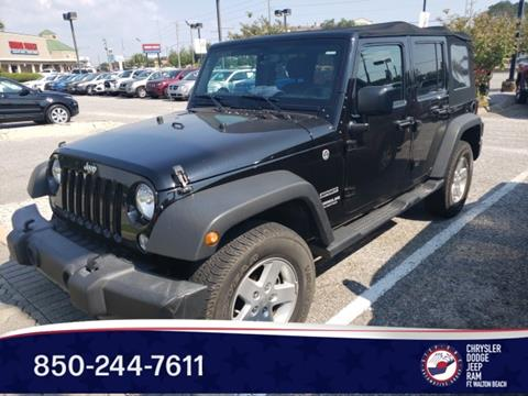 2017 Jeep Wrangler Unlimited for sale in Fort Walton Beach, FL