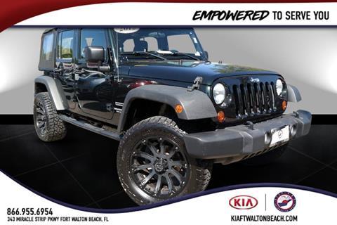 2012 Jeep Wrangler Unlimited for sale in Fort Walton Beach, FL