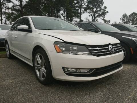 2013 Volkswagen Passat TDI SEL Premium for sale at Subaru Fort Walton Beach in Fort Walton Beach FL