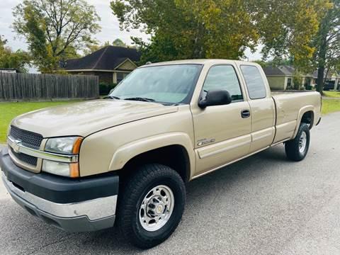 2004 Chevrolet Silverado 2500HD for sale in Houston, TX