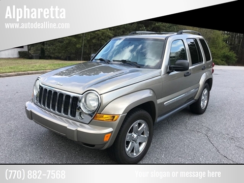 2007 Jeep Liberty for sale in Alpharetta, GA