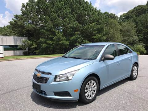 2011 Chevrolet Cruze for sale in Alpharetta, GA
