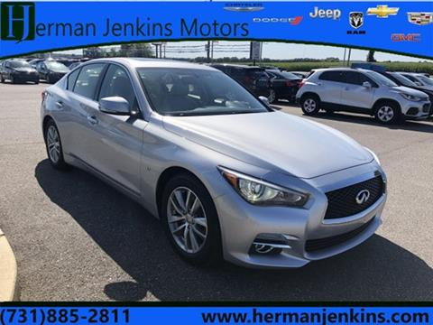 2015 Infiniti Q50 for sale at CAR MART in Union City TN