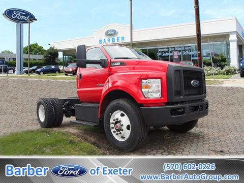 2018 Ford F-750 Super Duty for sale in Exeter, PA