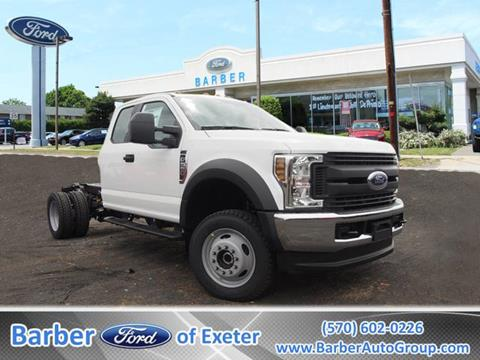 2018 Ford F-550 for sale in Exeter, PA