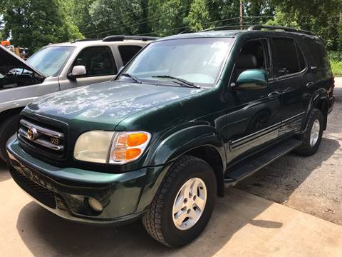 2001 Toyota Sequoia for sale at Sartins Auto Sales in Dyersburg TN