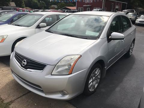 2012 Nissan Sentra for sale at Sartins Auto Sales in Dyersburg TN