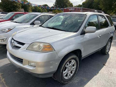 2004 Acura MDX for sale at Sartins Auto Sales in Dyersburg TN