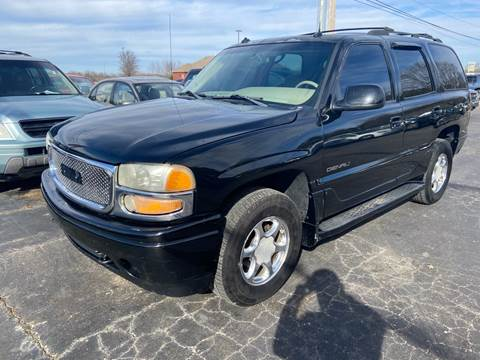 2003 GMC Yukon for sale at Sartins Auto Sales in Dyersburg TN
