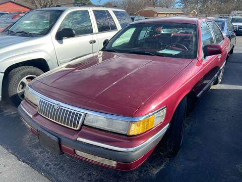 1993 Mercury Grand Marquis for sale at Sartins Auto Sales in Dyersburg TN