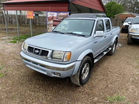 2000 Nissan Frontier for sale at Sartins Auto Sales in Dyersburg TN