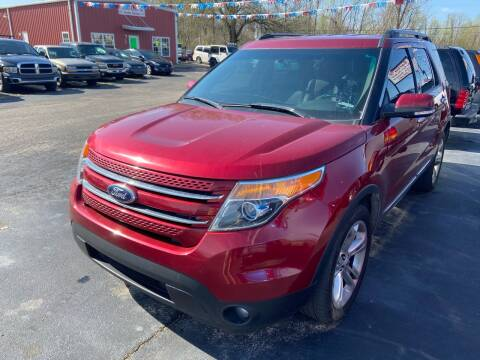 2015 Ford Explorer for sale at Sartins Auto Sales in Dyersburg TN