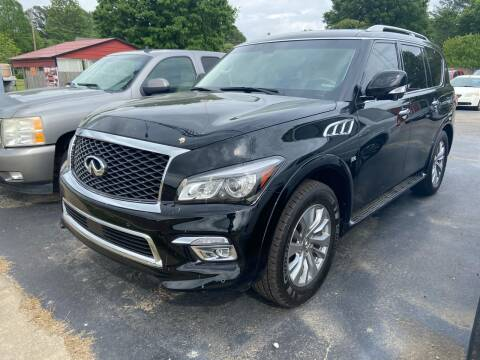 2017 Infiniti QX80 for sale at Sartins Auto Sales in Dyersburg TN