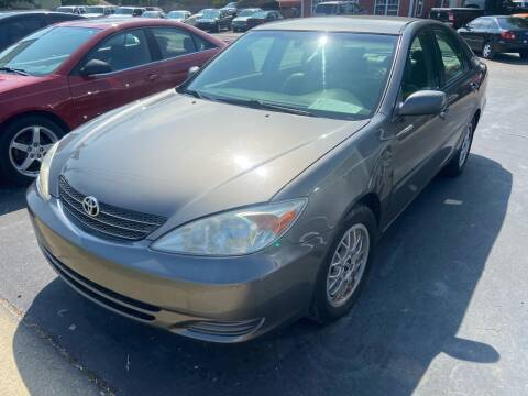 2002 Toyota Camry for sale at Sartins Auto Sales in Dyersburg TN