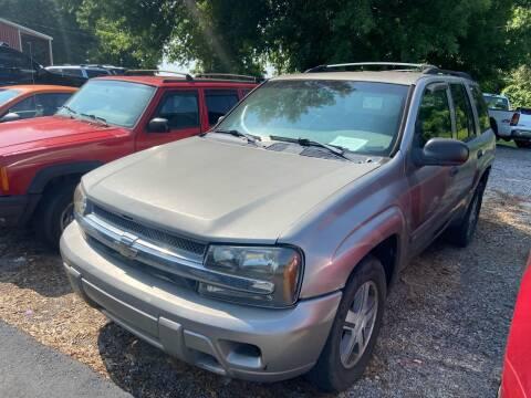 2002 Chevrolet TrailBlazer for sale at Sartins Auto Sales in Dyersburg TN
