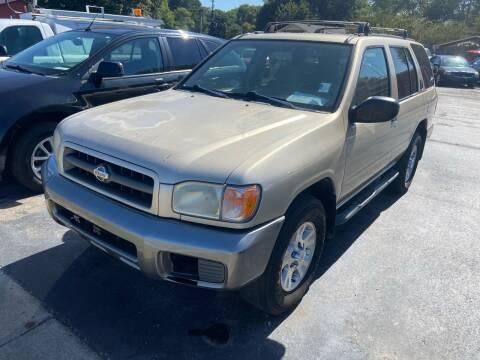 1999 Nissan Pathfinder for sale at Sartins Auto Sales in Dyersburg TN
