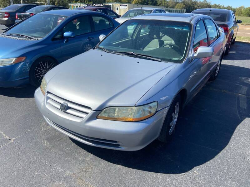2002 Honda Accord for sale at Sartins Auto Sales in Dyersburg TN