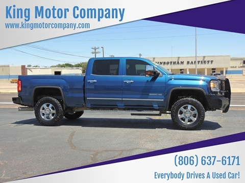 2016 GMC Sierra 2500HD for sale in Brownfield, TX