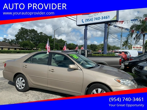Toyota Dealership Fort Lauderdale >> 2005 Toyota Camry For Sale In Fort Lauderdale Fl