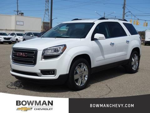 Gmc Acadia Limited >> Gmc Acadia Limited For Sale In Clarkston Mi Bowman Auto