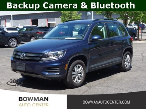 Bowman Auto Center >> Volkswagen Tiguan For Sale In Clarkston Mi Bowman Auto Center