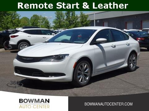Bowman Auto Center >> Chrysler 200 For Sale In Clarkston Mi Bowman Auto Center