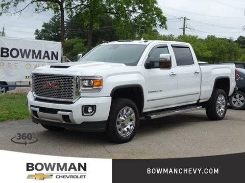 2017 GMC Sierra 2500HD for sale in Clarkston, MI