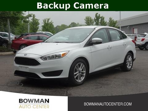 Bowman Auto Center >> Ford Focus For Sale In Clarkston Mi Bowman Auto Center