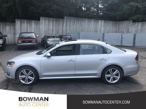 Bowman Auto Center >> Volkswagen Passat For Sale In Clarkston Mi Bowman Auto Center