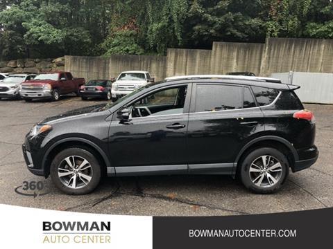 Bowman Auto Center >> 2016 Toyota Rav4 For Sale In Clarkston Mi