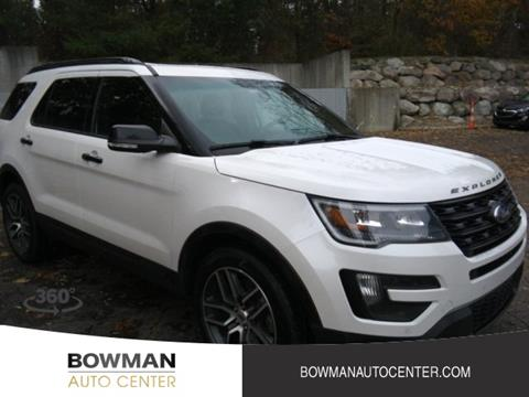 Bowman Auto Center >> Ford Explorer For Sale In Clarkston Mi Bowman Auto Center
