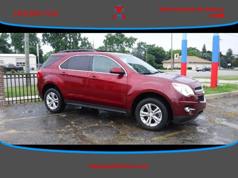 2012 Chevrolet Equinox for sale at Go2Motors in Redford MI