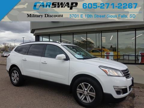 Used Chevy Traverse >> 2016 Chevrolet Traverse For Sale In Sioux Falls Sd